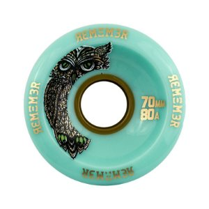 Roda Remember Hoot Slide 70mm 80a Sea
