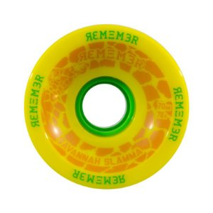 Roda Remember Savannah Slamma 70mm 78A Amarela