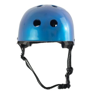 Capacete Crazynboard Azul Metal