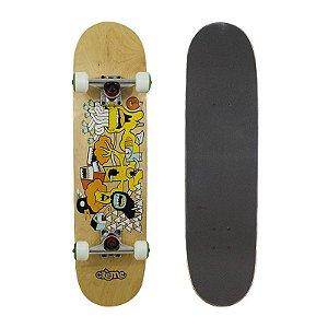 Skate Completo Importado Crème Crazy 8.0 - Shape Maple
