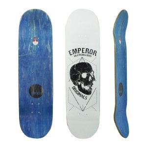 Shape Emperor Maple Black Skull White 8.25