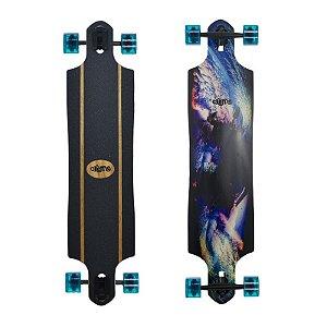 """Longboard Completo Simétrico Crème Wave Colorful 9.5"""" x 41"""""""