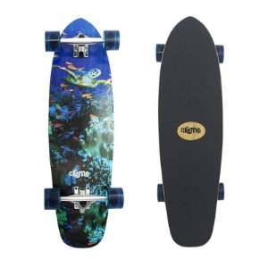 "Skate Cruiser Importado Crème Turtle Ocean 9.25"" x 33"""