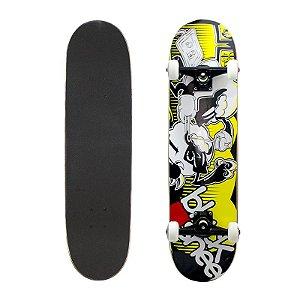 Skate Completo Black Sheep Profissional Piercing 8.0