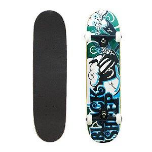 Skate Completo Black Sheep Profissional Milk 8.0