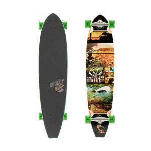 "Longboard Pintail Sector 9 Voyager 9.3"" x 39.5"""