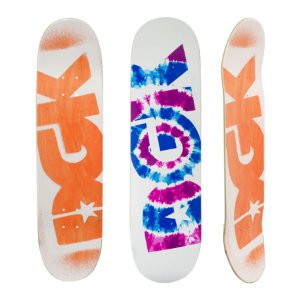 Shape DGK Maple Tie Dye Branco 8.0