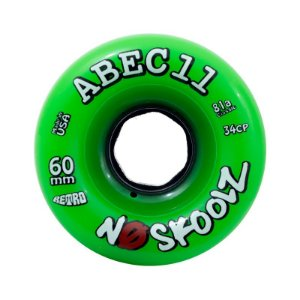 Roda Abec 11 No Skoolz Retro 60mm 81A Verde