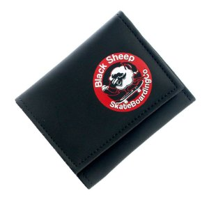 Carteira Black Sheep Logo Black