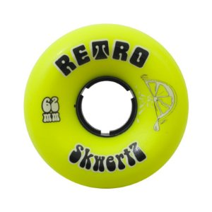 Roda Abec 11 Retro Skwertz 62mm 96A Lime