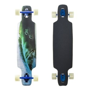 "Longboard Completo Simetrico San Clemente Wave Surfer 9"" x 38"""