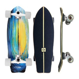 "Simulador de Surf Nitro SK8 Wave Sunset 9.5"" x 29.5"""