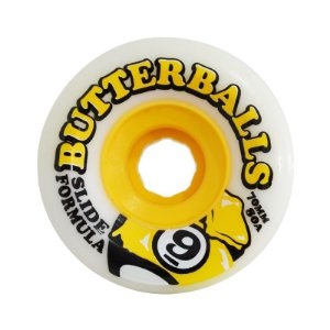 Roda Sector 9 Butterballs Cosmic Core 70mm 80A Branca