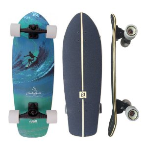 "Simulador de Surf Nitro Sk8 Carlos Burle Tahiti 10"" x 31"""
