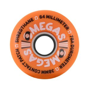 Roda Sector 9 Omegas 64mm 78a Orange
