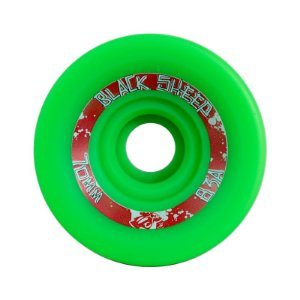 Roda Black Sheep Longboard 70mm 83A Centerset Verde