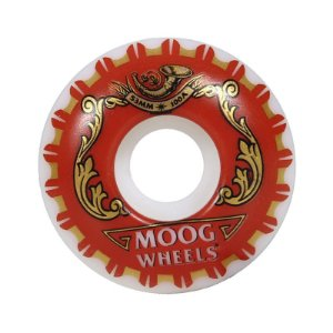 Roda Moog Beer 53mm Branca