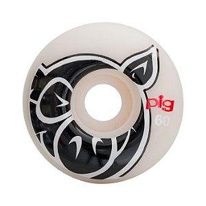 Roda Pig Head Natural 60mm 101a