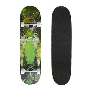 Skate Completo Importado San Clemente Wolf 8.0 - Shape Maple