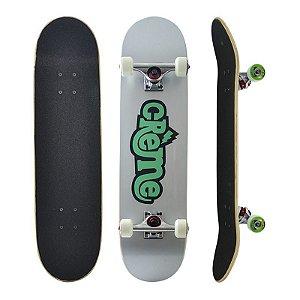 Skate Completo Importado Crème Logo 8.0 - Shape Maple