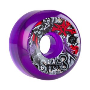 Roda Bones SPF Clear Staab Ghost Pirate 60mm 84B Roxa
