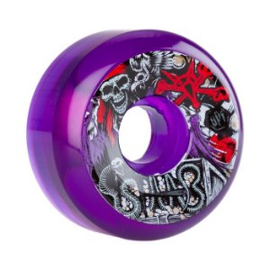 Roda Bones SPF Clear Staab Ghost Pirate 58mm 84B Roxa