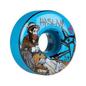 Roda Bones STF V3 Haslam Bohemian 54mm 83B Azul