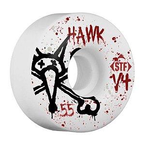 Roda Bones STF V4 Hawk Vato 55mm 83B Branca