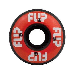 Roda Flip Odyssey Logo 52mm 99a Red