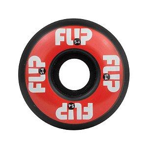Roda Flip Odyssey Logo 54mm 99a Red