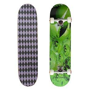 Skate Completo Importado San Clemente Green 8.0 - Shape Maple