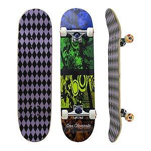 Skate Completo Importado San Clemente Color 8.0 - Shape Maple