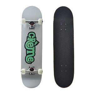 Skate Completo Importado Crème Logo 8.0 Shape Maple