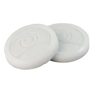 Casquilho Sector 9 Circular Branco