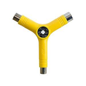 Chave Multifuncional Hondar Tri-Socket Amarela