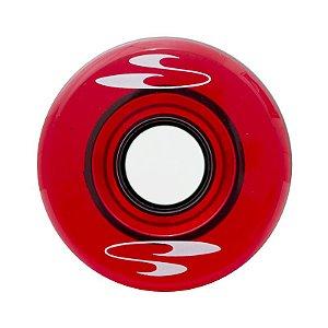 Rodas SurfSkate 63mm 78a Vermelho