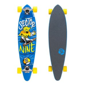"Skate Cruiser Sector 9 Swift 9.6"" x 34,5"" Azul"