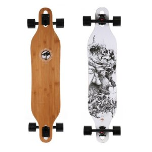 Longboard Completo Arbor Axis Bamboo 40