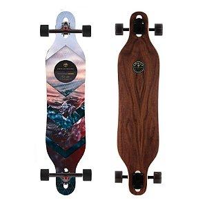 "Longboard Completo Arbor Axis Walnut 40"""