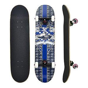 Skate Completo Black Sheep Profissional Medieval Blue 8.0