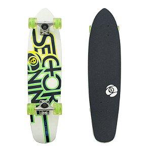 """Skate Cruiser Sector 9 The Wedge Glow White 7.25"""" x 31"""""""