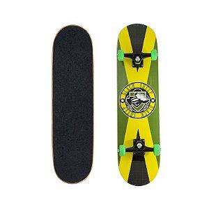 Skate Completo Black Sheep Semi Profissional Jamaica 8.0