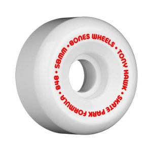 Roda Bones SPF Hawk Mini Cube 58mm 84B Branca