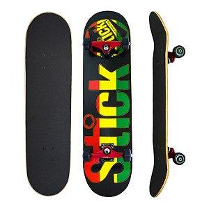 Skate Completo Stick Reggae