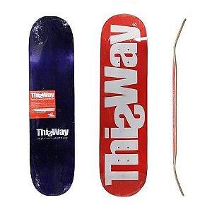 Shape ThisWay Classic 8.25 Vermelho