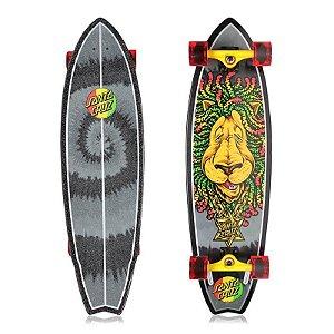 "Longboard Completo Santa Cruz Rasta Lion Shark 10"" x 36"""