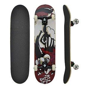 Skate Completo Black Sheep Semi Profissional Grafite 8