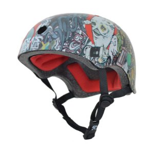 Capacete S-One Damager Youth Certified Artist Collab