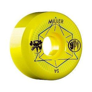 Roda Bones SPF Chris Miller Inner 2 54mm 83B Amarela