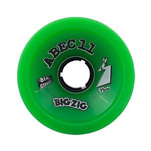Roda Abec 11 Big Zig Classic 75mm 78A Verde